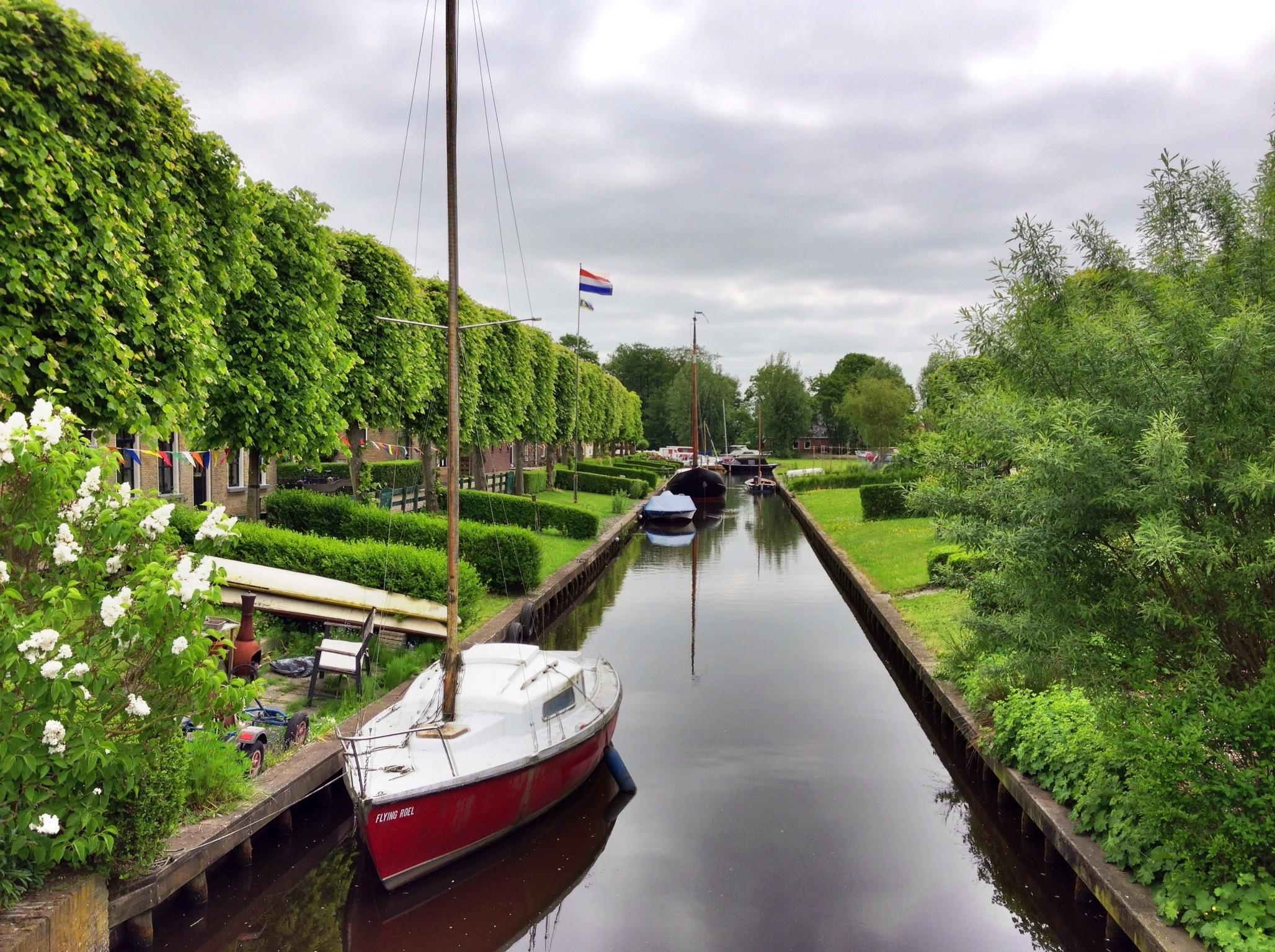 Unterwegs auf den Wasserstraßen Nordhollands