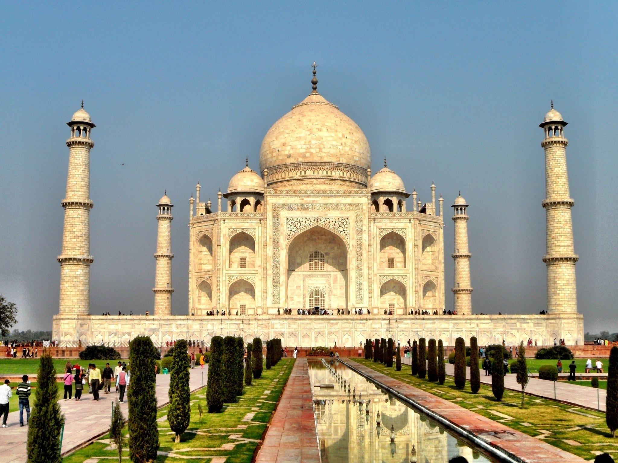 Ewige Schönheit! das Taj Mahal