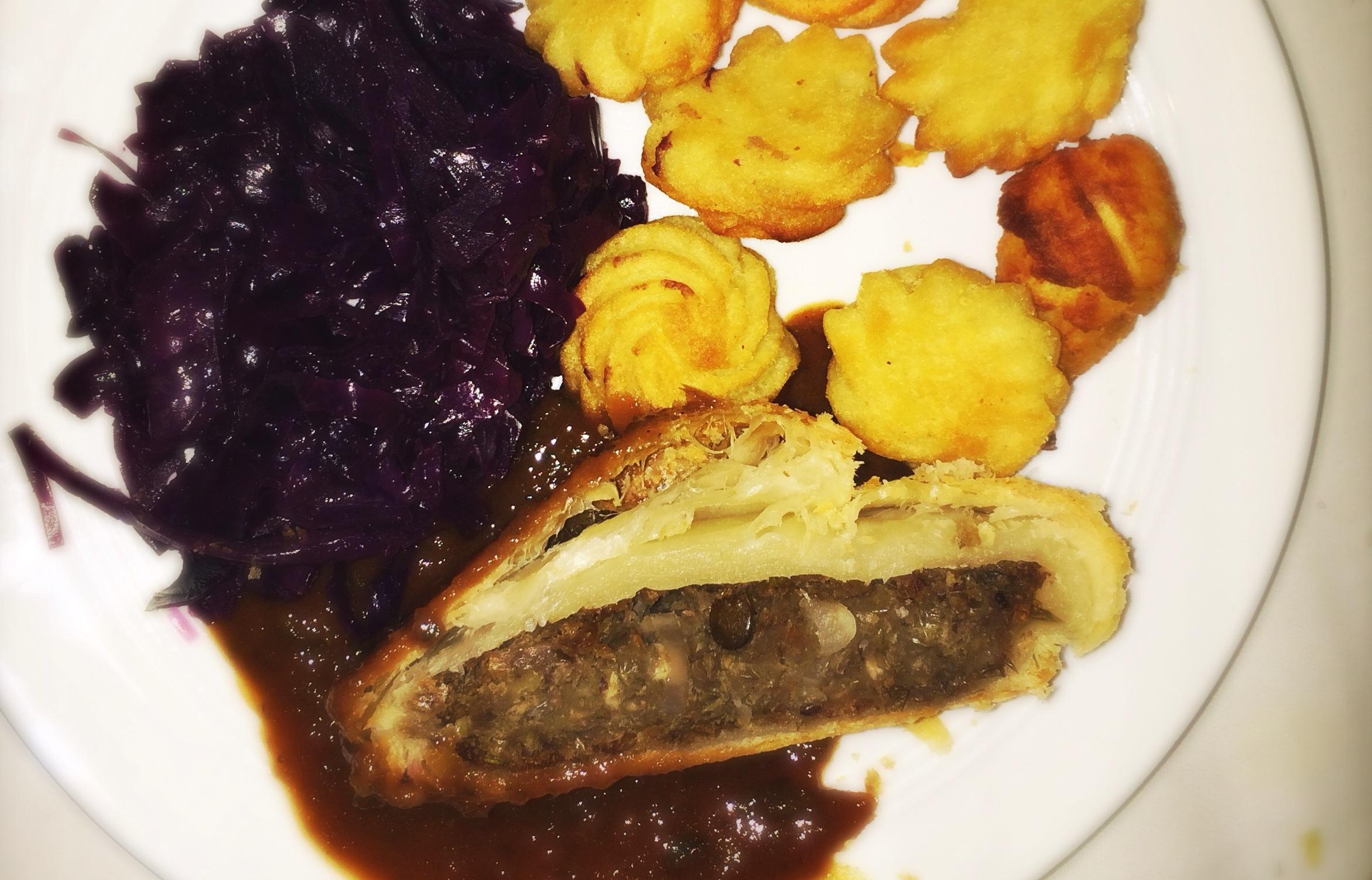 Rezept: Linsenbraten, deftig und vegan!
