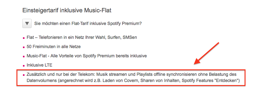 Telekom Music Streaming