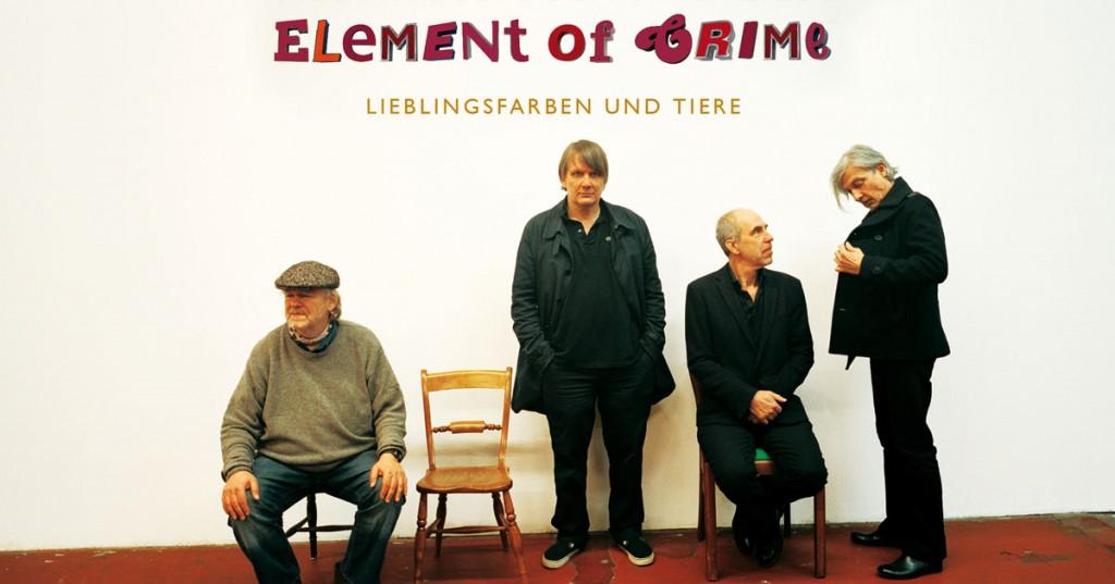 Element of Crime - lieblingsfarben und tiere