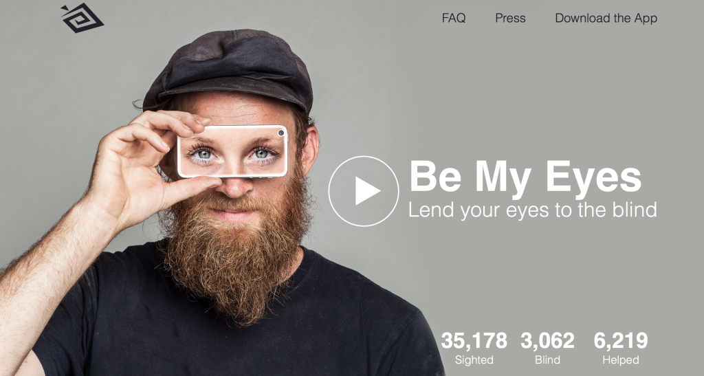 Be My Eyes :Zwentner,com