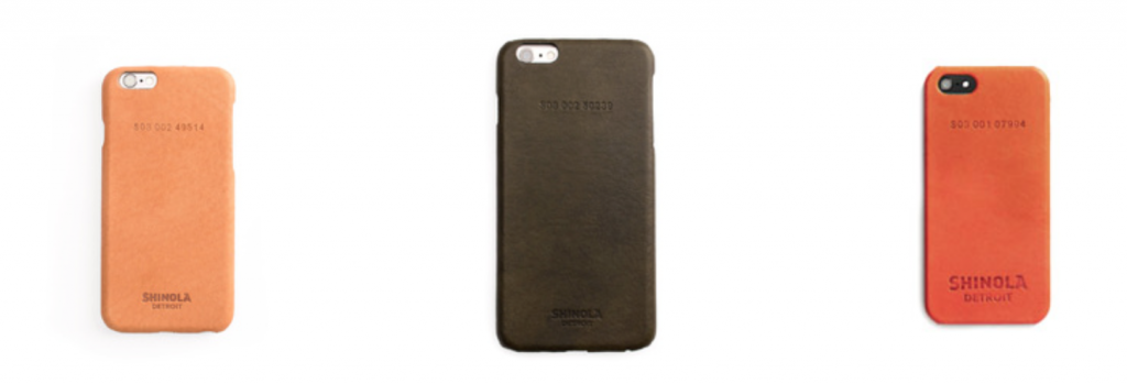 Shinola iPhone Cases