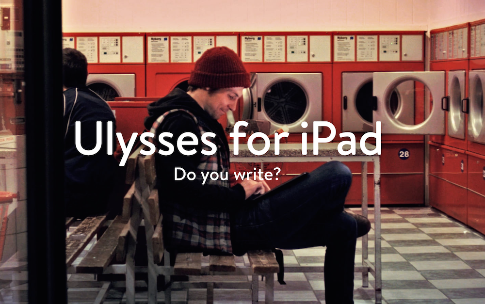 Ulysses iPad Cover