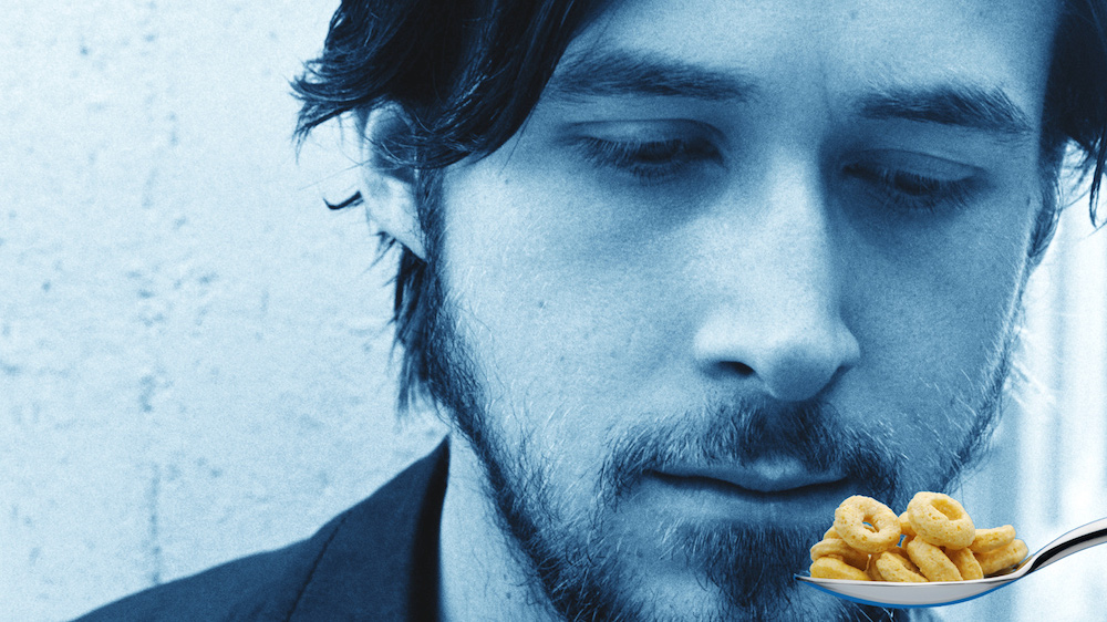 Ryan Gosling finally eats his cereal
