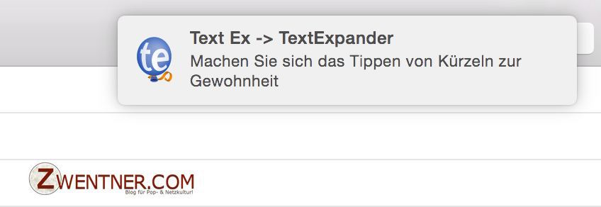TextExpander 5 Snippet Reminders