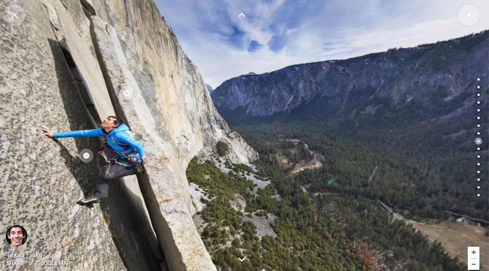 El Capitan, Google Street View