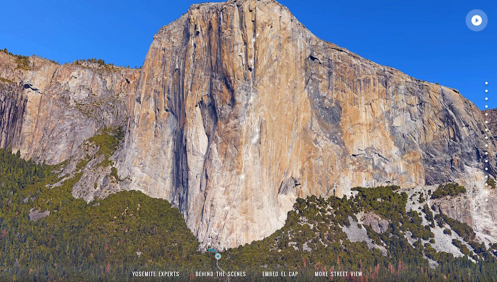 El Capitan Google Street View