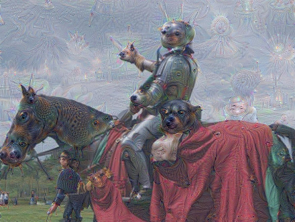 neural-network-dog-horse-knight