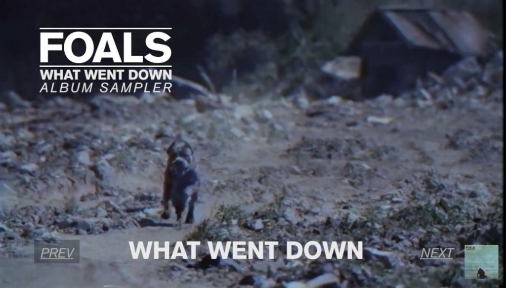 Foals What went down Album Sampler