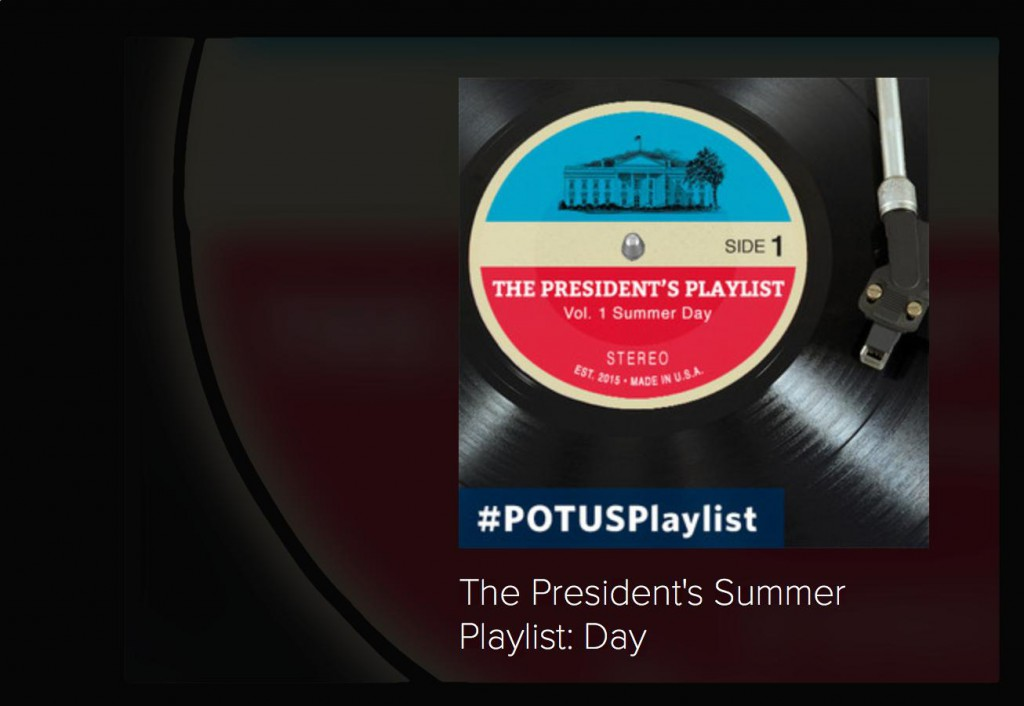 Obama Playlist Spotify