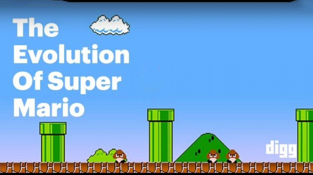 Super Mario Evolution