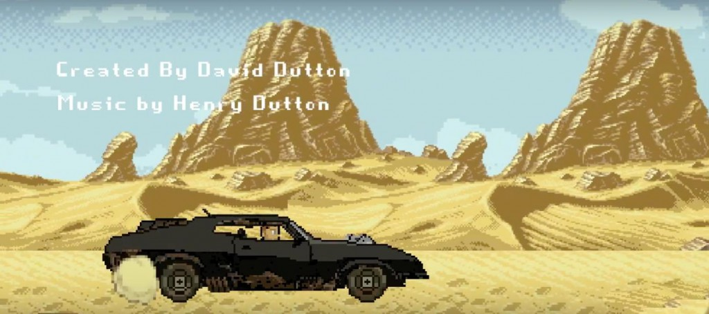 Mad Max Fury Road 8Bit