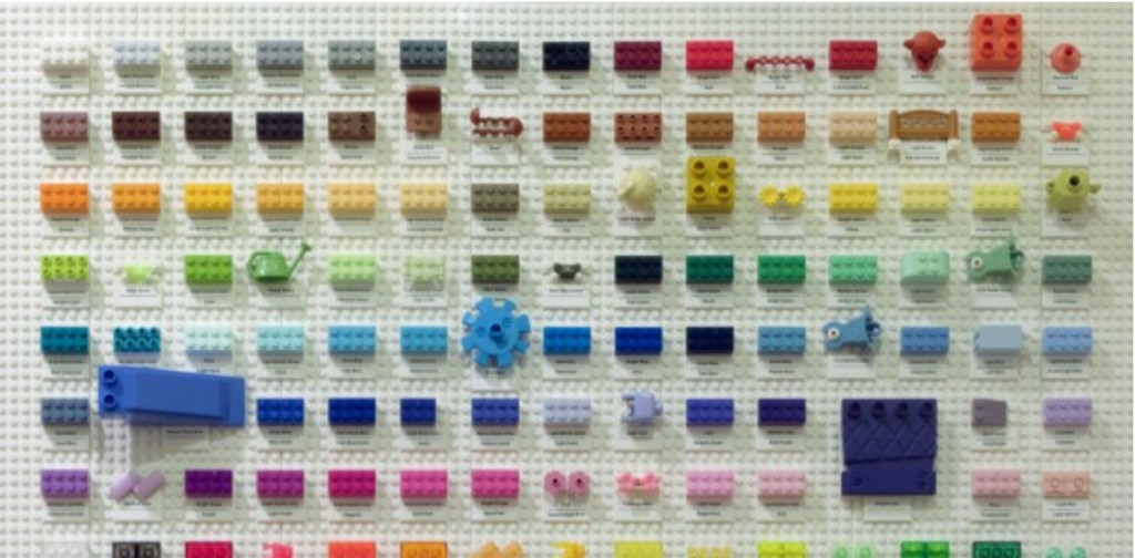 LEGO Color Chart