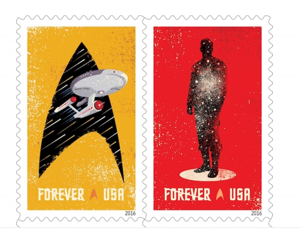 Star Trek Briefmarken