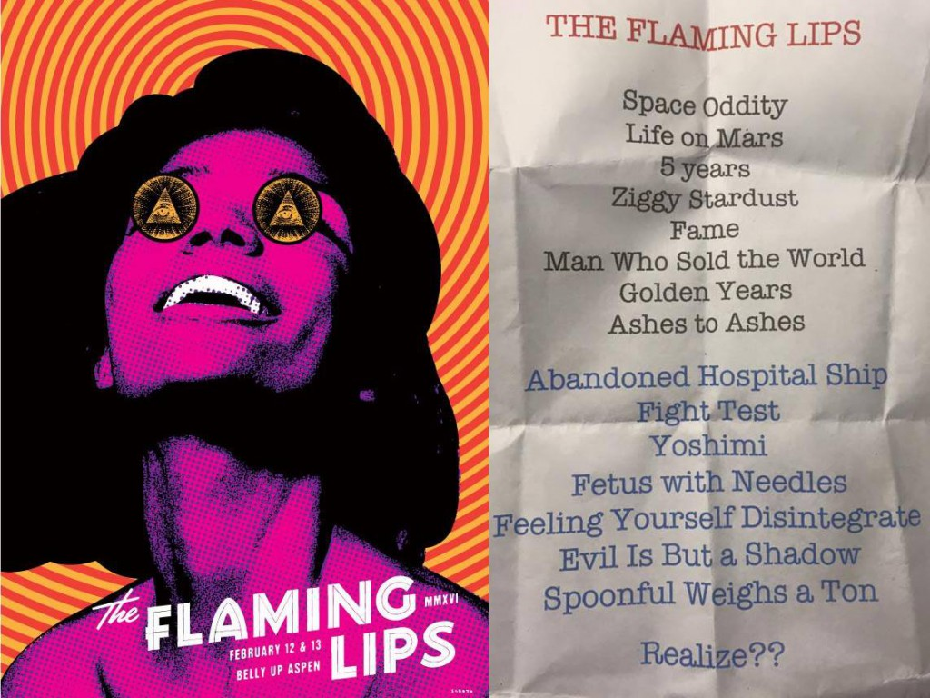 The Flaming Lips David Bowie