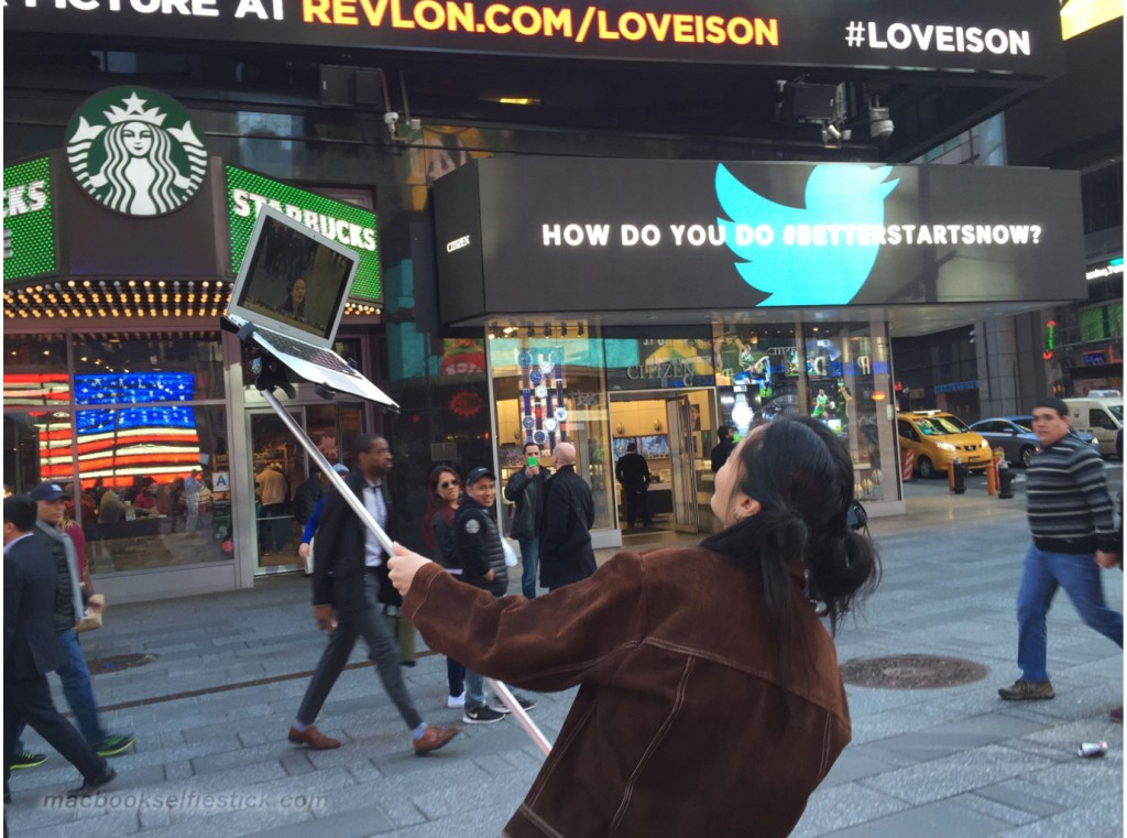 Mac Book Selfie Stick 2