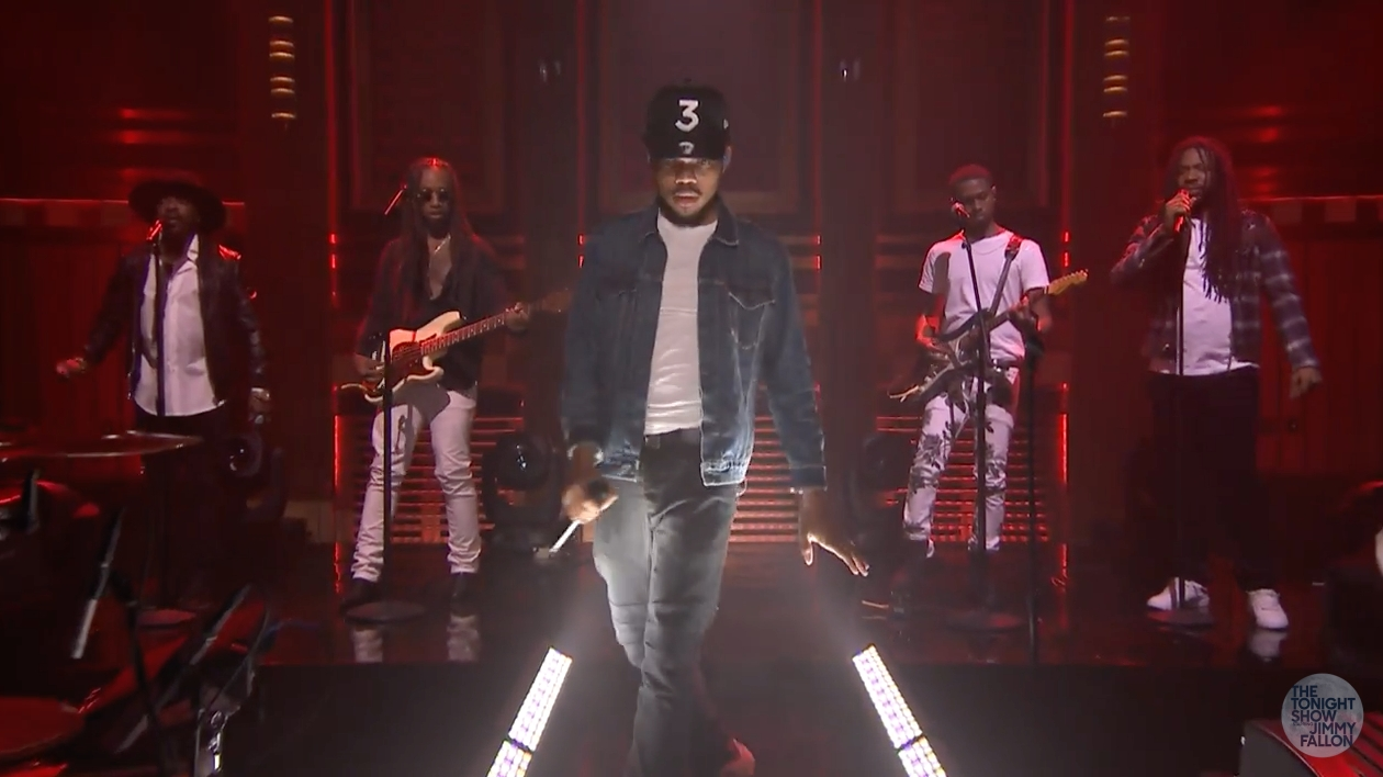 Coloring Book Chance The R Er Clean : Chance the rapper blessings reprise bei jimmy fallon