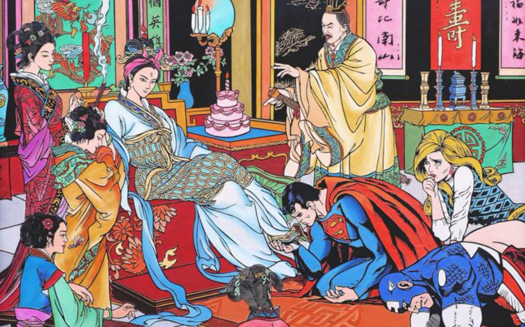 Traditional Chinese Art meets Pop-Culture!