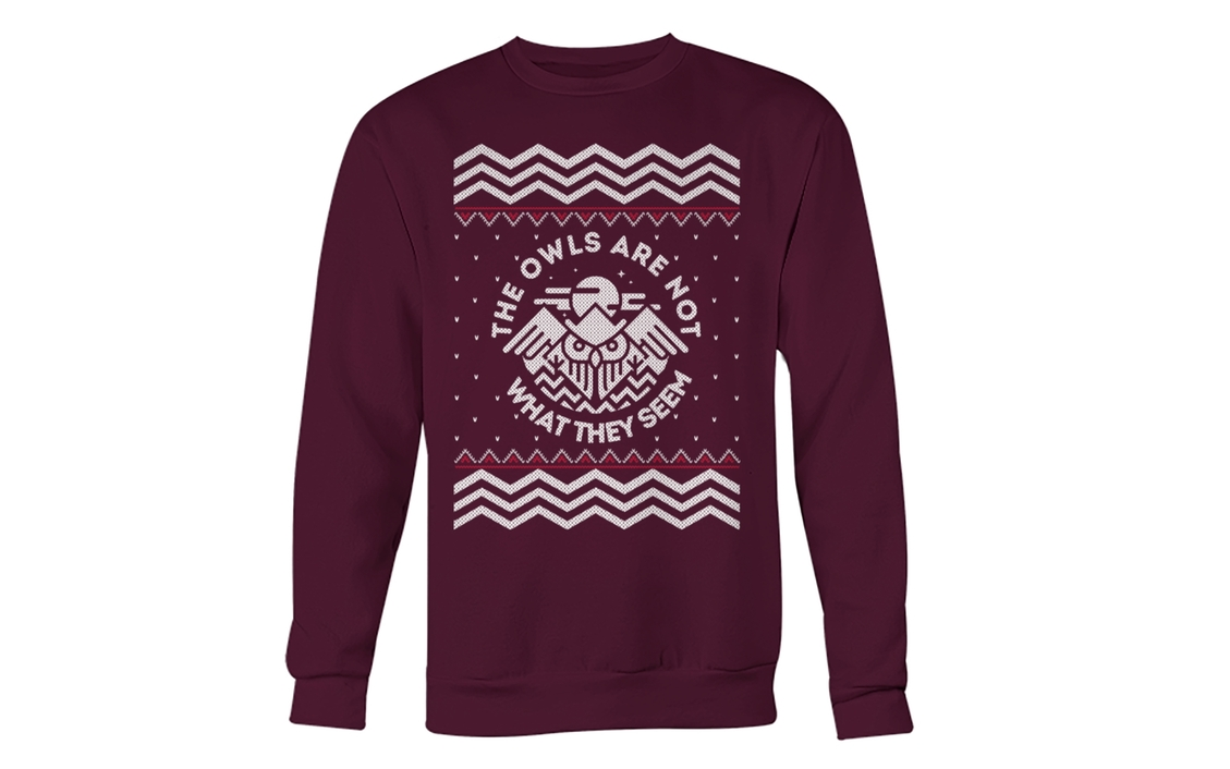 Twin Peaks: 'The Owls Are Not What They Seem' Pullover