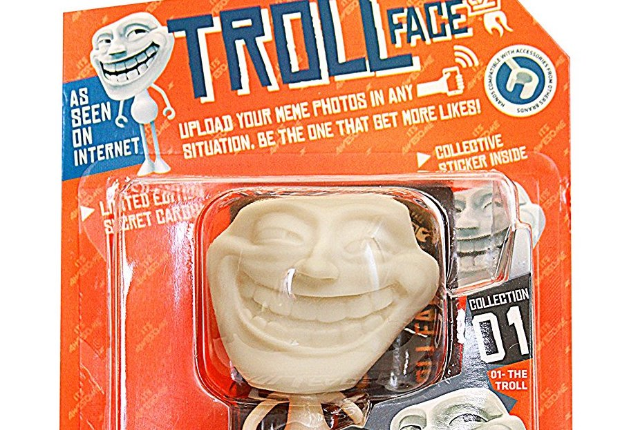 Troll Face Action Figure