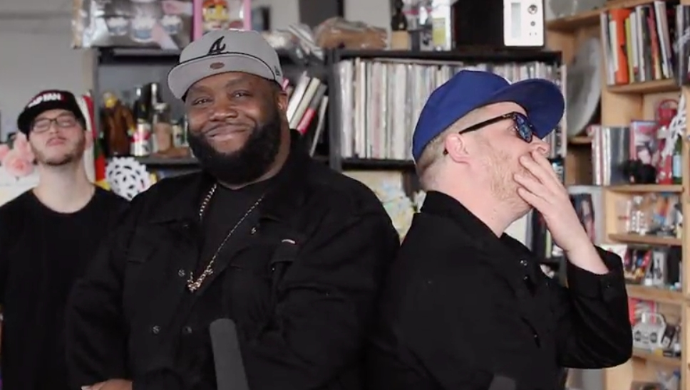 run the jewels tiny desk