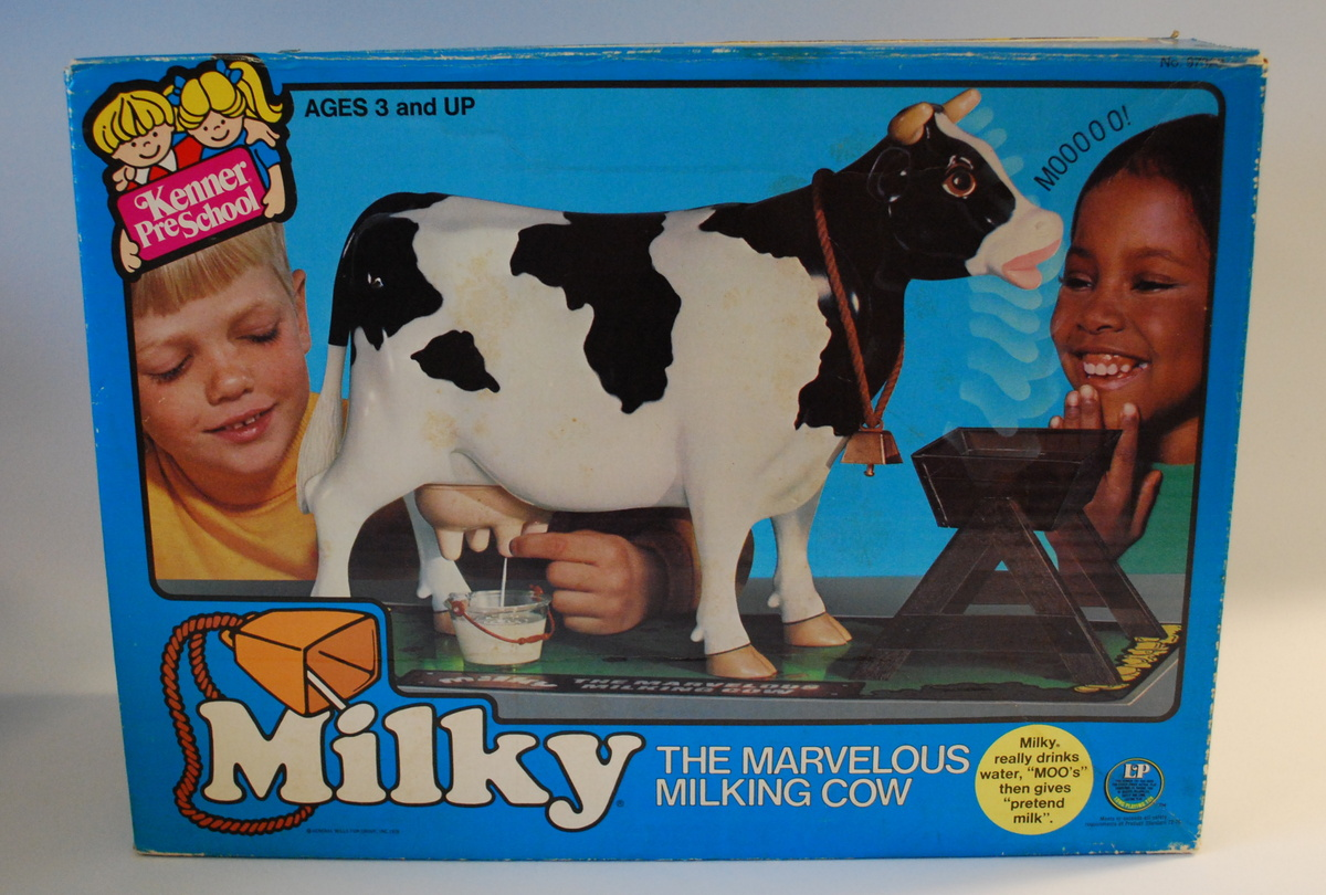 Milky The Marvellous Milking Cow