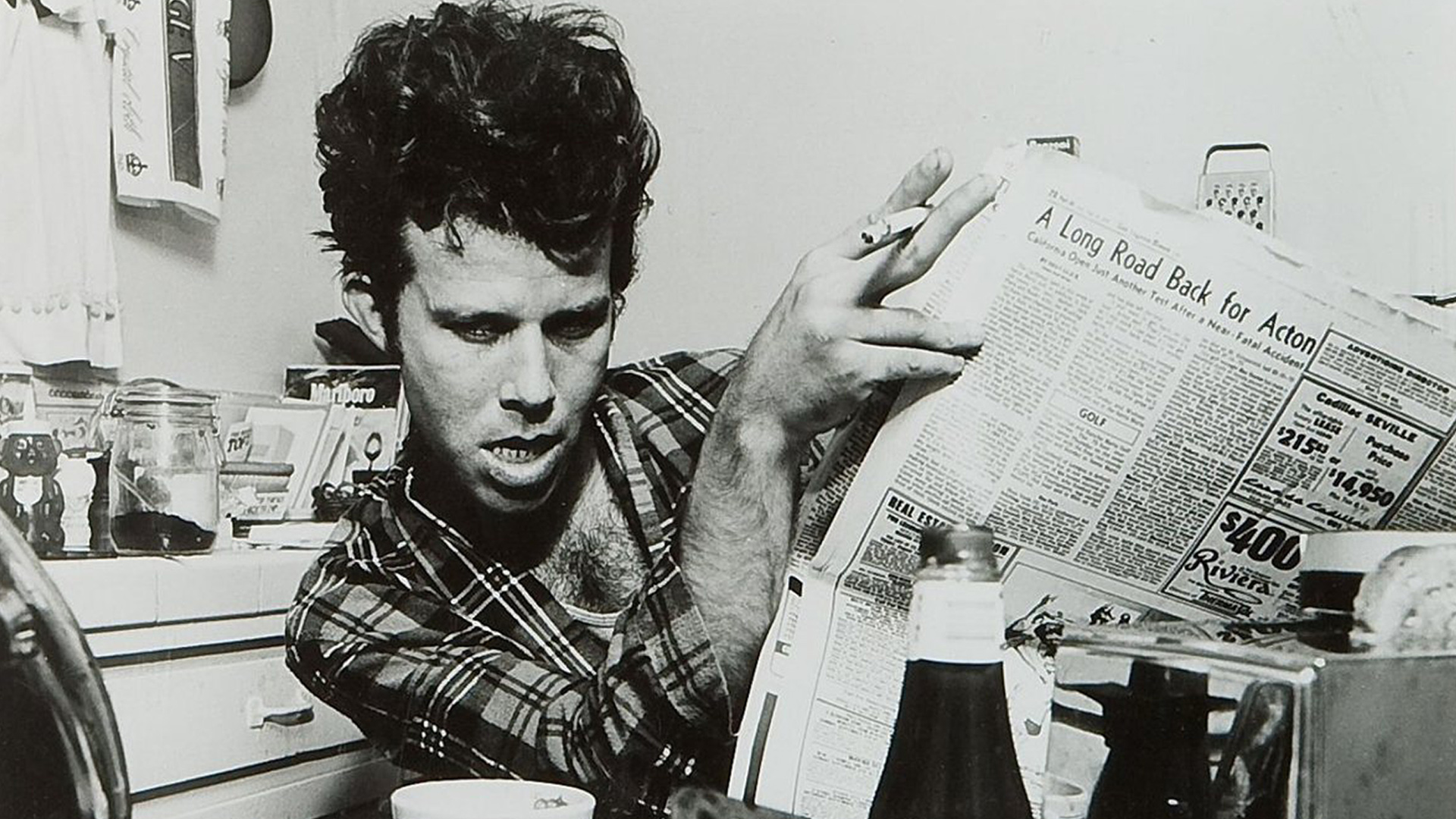 Tom Waits lost 'Rain Dogs' Commercials