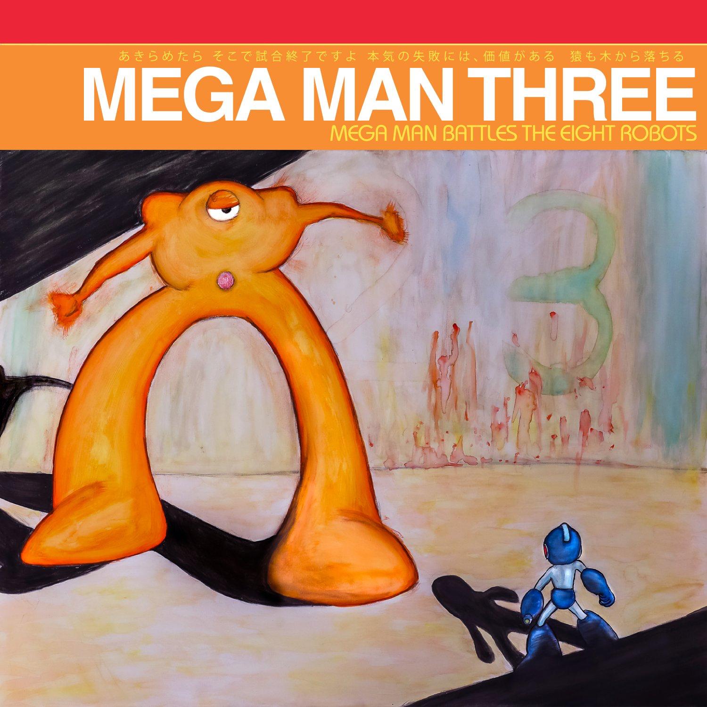 MOONSHAKE010: Mega Man Three: Mega Man Battles The Eight Robots (Vinyl)