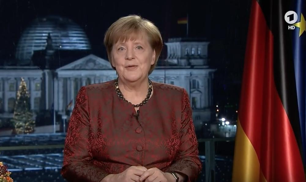 Neujahrsansprache von Angela Merkel