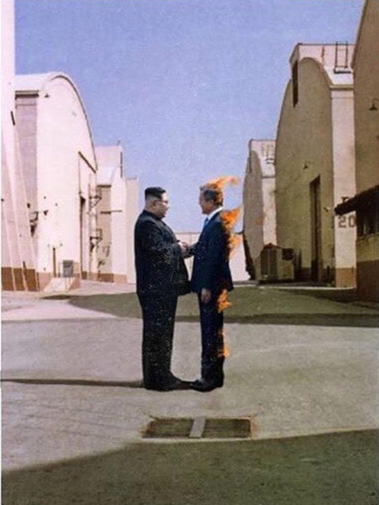 Kim Jong Un meets Moon