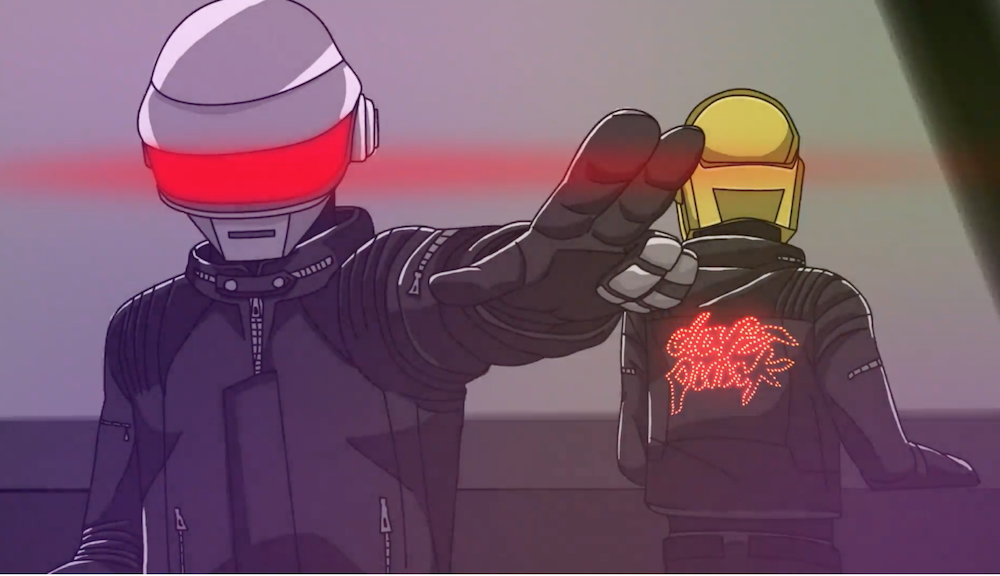 Discovery: When Daft Punk became Robots