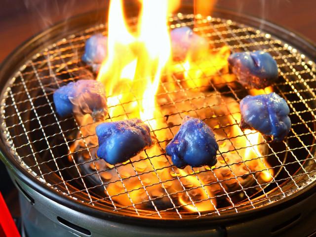 Blaues WM Fleisch