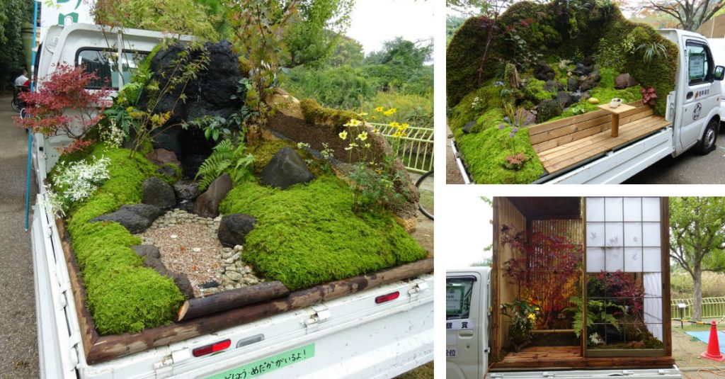 Mini Gardens on Japanese Trucks