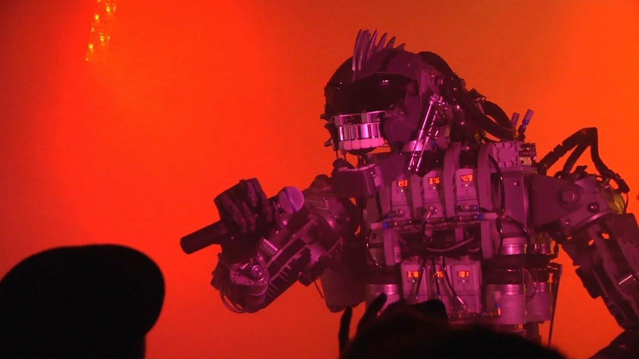 Compressorhead: Eine Heavy Metal Band deren Mitglieder Roboter sind