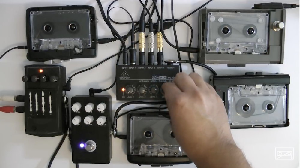 Making Drone Music with Walkman's