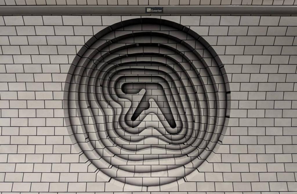 Aphex Twin Logo in Londoner Metro entdeckt!