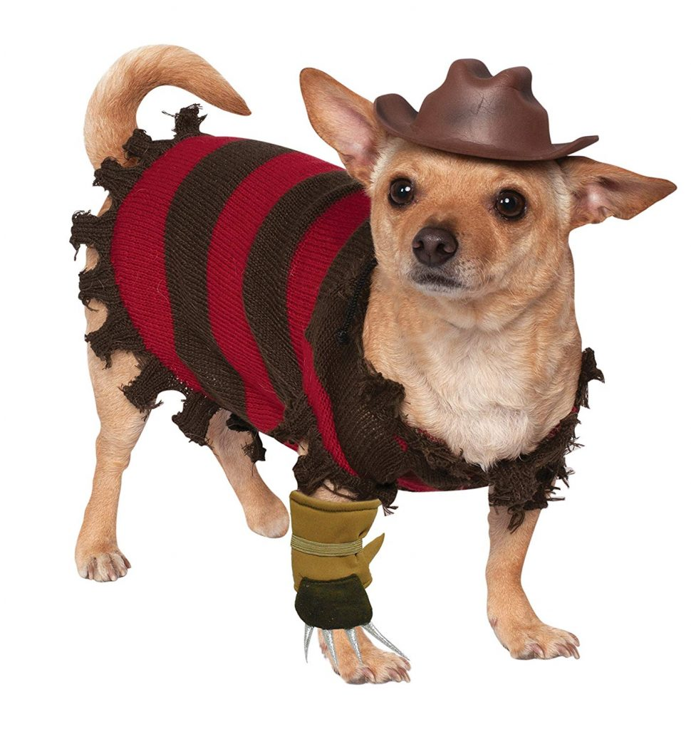Freddy Krueger Pet Costume