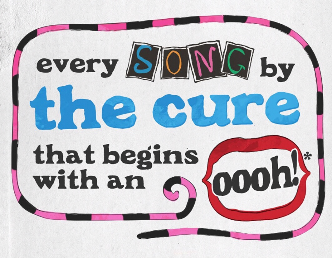 Every Song by The Cure  that begins with an oooh!