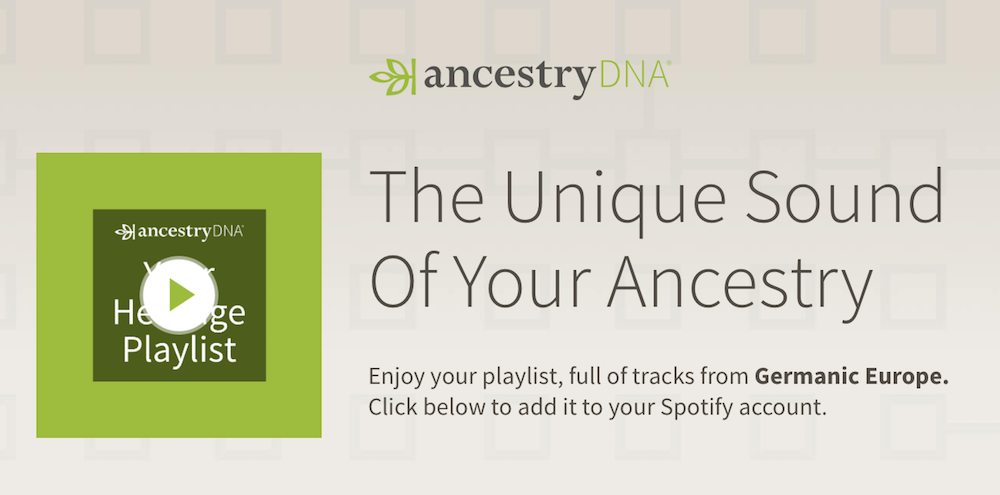 Spotify DNA Playlists
