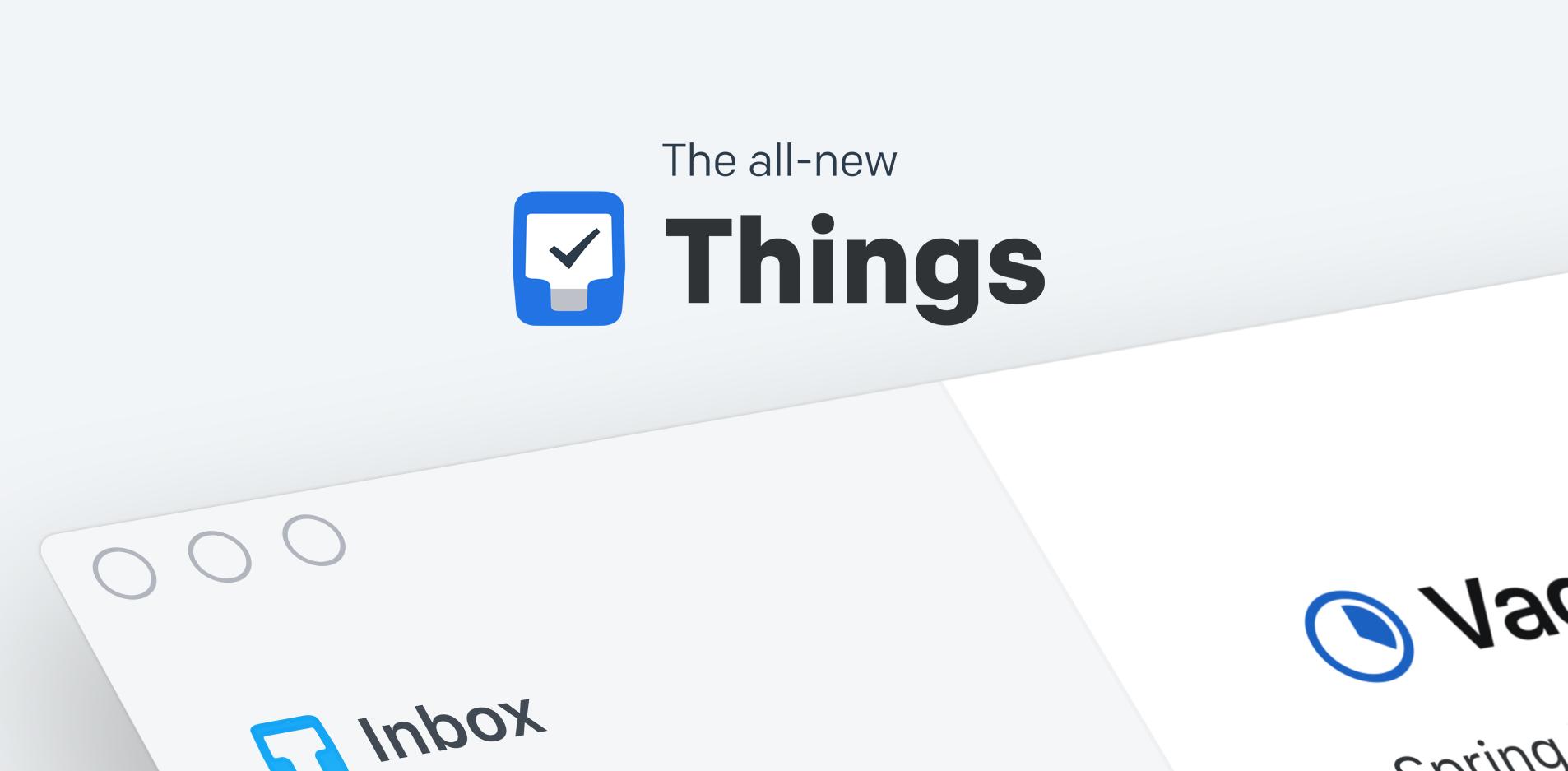 Wie 'Things 3' mich dazu brachte wieder Spaß an der elektronischen Aufgabenverwaltung zu haben.