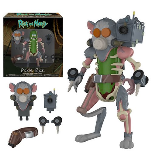 Pickle Rick Action Figure