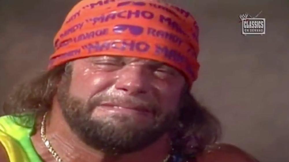 Hulk Hogan vs Macho Man Breathing Match