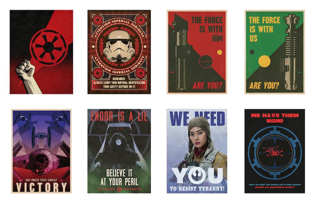 'Star Wars' Propaganda Poster