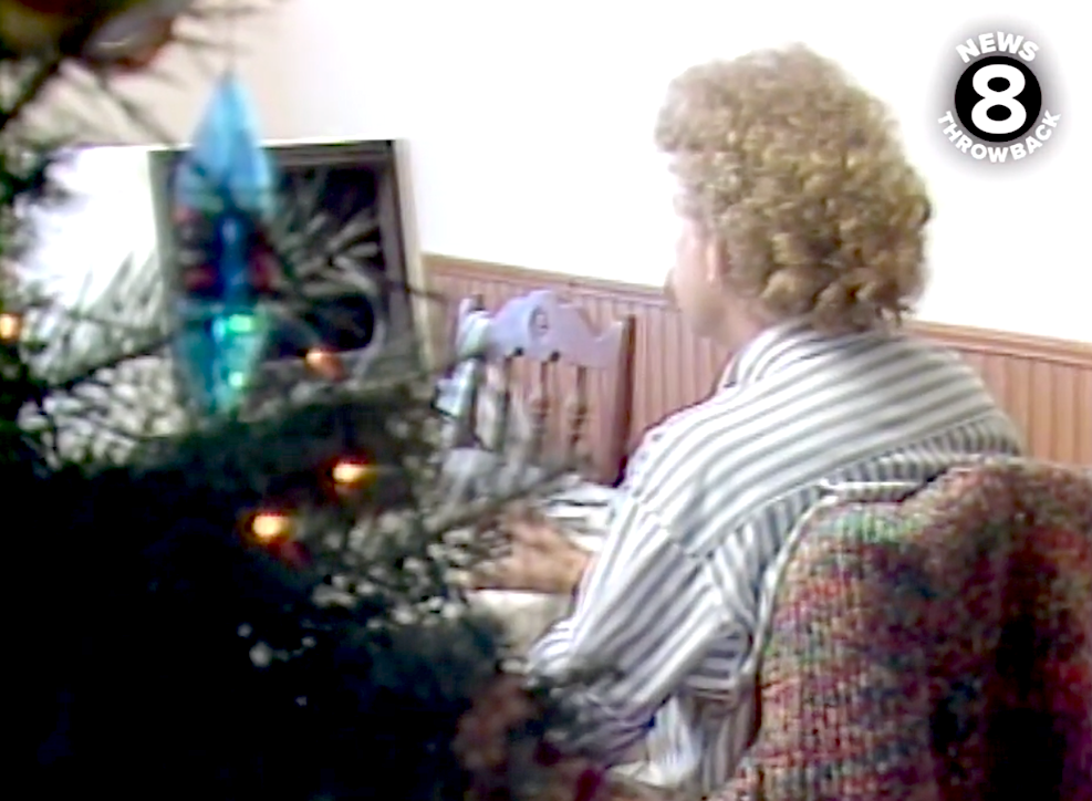 Weihnachtsshopping am PC im Jahr 1986