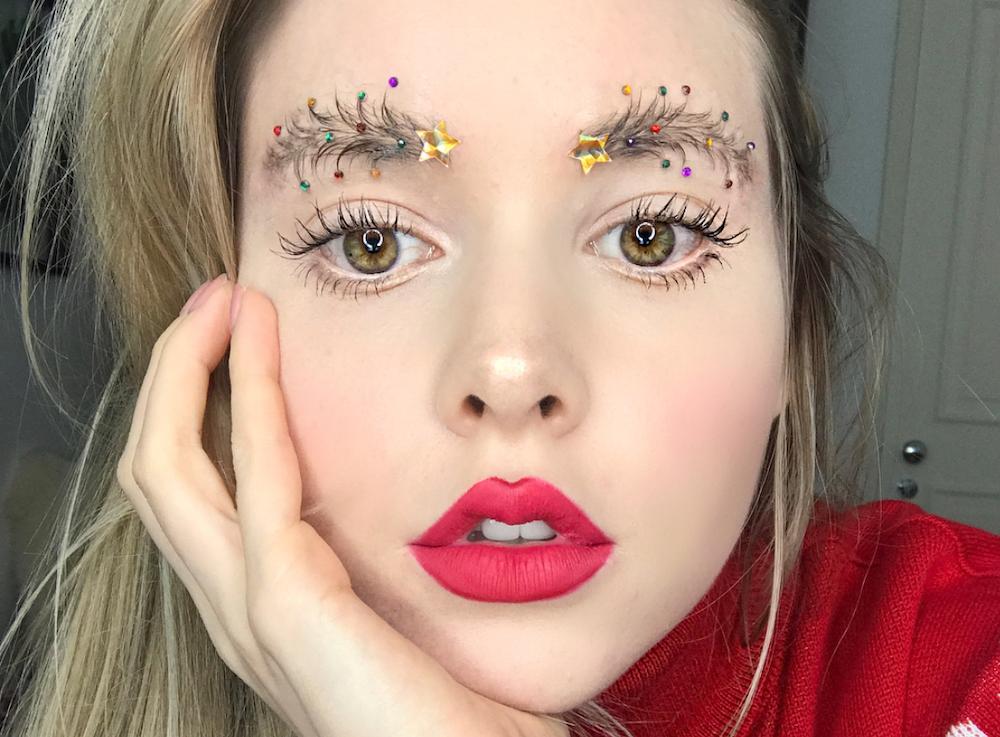 christmastreeeyebrows