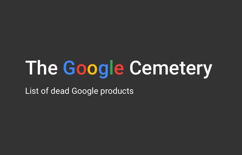 The Google Cementery