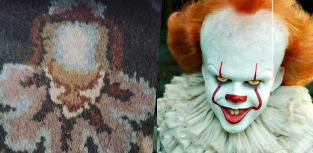 Pennywise in a Rug