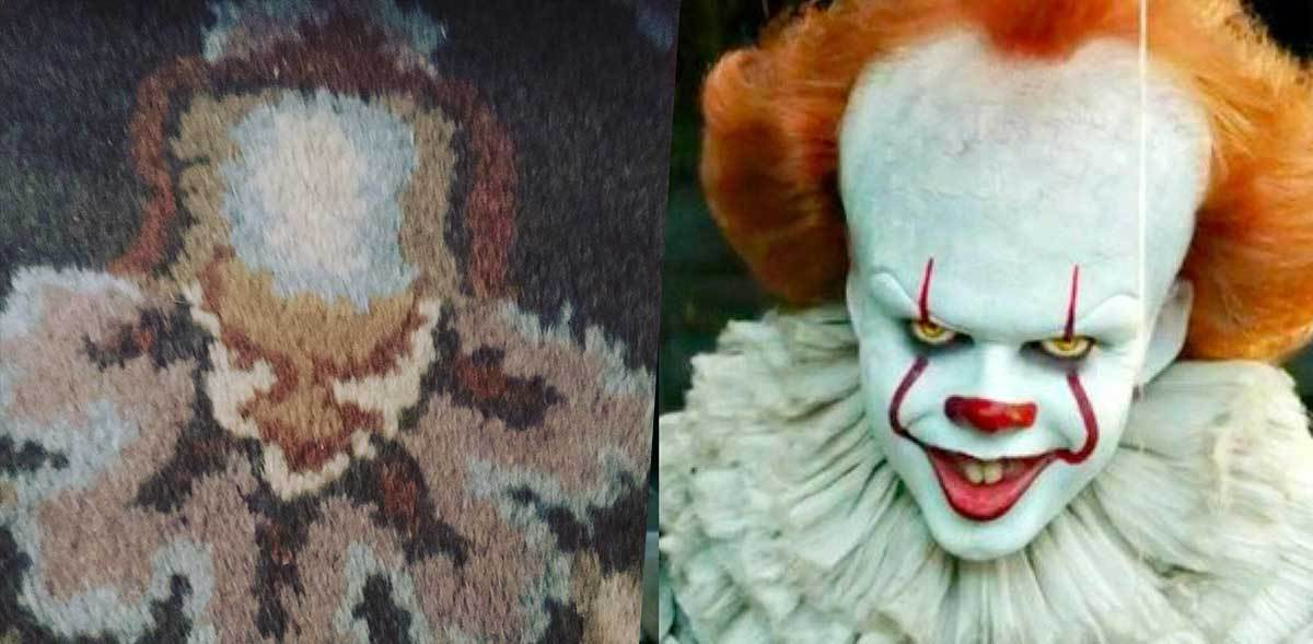 Pennywise in a Rug ?