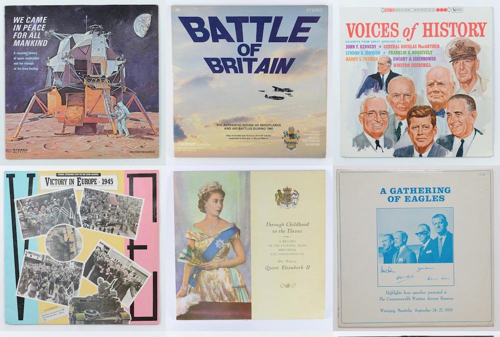 Archiv 'besprochener' historischer Schallplatten